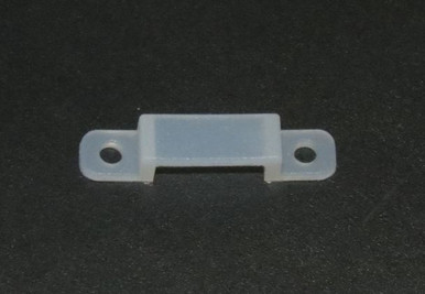 Silicon Mounting brackets for waterproof LED strip Lights