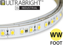 Industrial LED strip lighting warm white