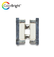 ColorBright™ Single Color LED Solderless Connector - (8mm) No Wire Strip to Strip
