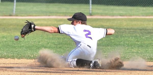 Fielding a baseball
