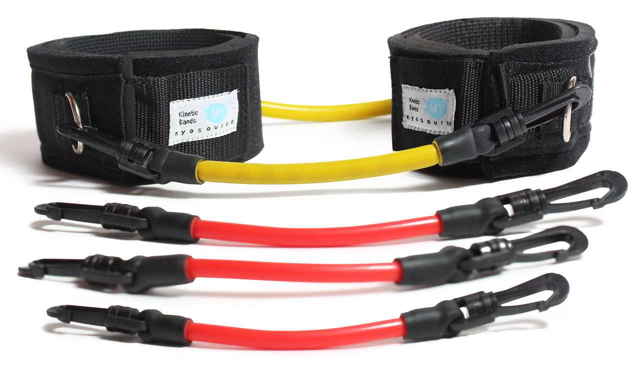 Image of Kinetic Bands for users who weigh less than 110 lbs or 50 kg.
