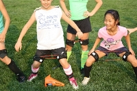Young athletes having fun while training with Kinetic Bands