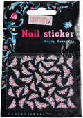 Berkeley Pink And Blue Floral 3D Nail Decal