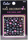 Cala Dancing Hearts 3D Nail Decal