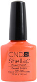CND Shellac Desert Poppy (UV Polish)