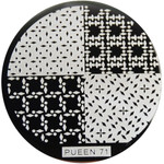Pueen Image Plate Pueen #71: Assorted, Diamonds, Dots (Ships Free, No Min)