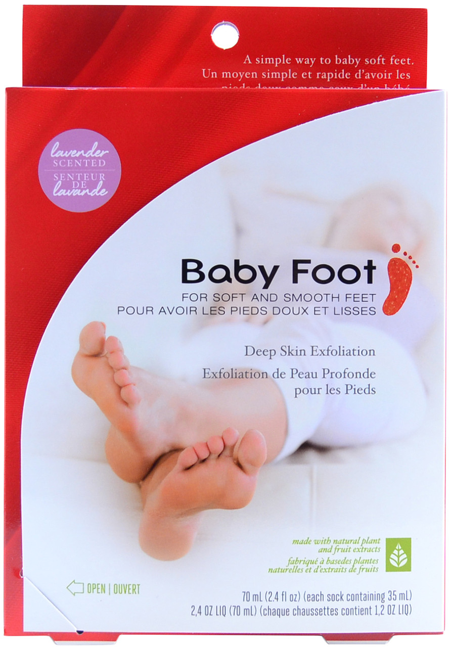 baby foot easy pack original deep skin exfoliation for feet 2 4 fl oz 70 ml free. Black Bedroom Furniture Sets. Home Design Ideas