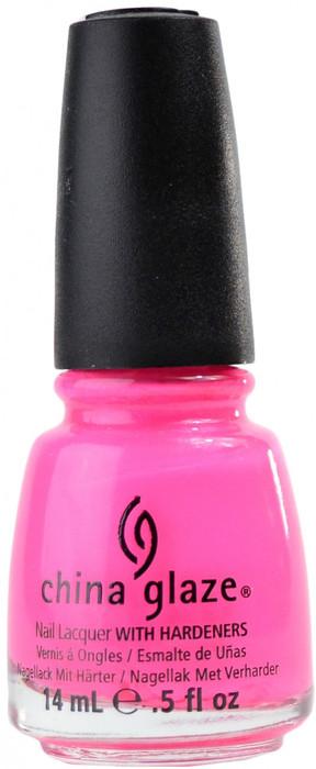 China Glaze Pink Voltage (Neon) nail polish