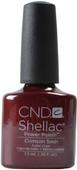 CND Shellac Crimson Sash (UV / LED Polish)