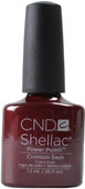 CND Shellac Crimson Sash (UV / LED Polish)