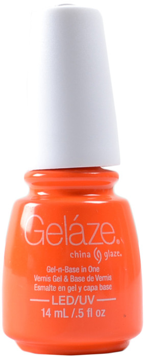 Gelaze Orange Knockout (UV / LED Polish)