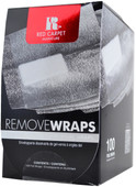 Red Carpet Manicure LED Nail Gel Polish Foil Removal Wraps (100 Count)