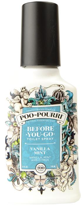 Large Vanilla Mint Poo-Pourri Before You Go Toilet Spray (4 fl. oz. / 118 mL)