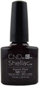 CND Shellac Poison Plum (UV / LED Polish)