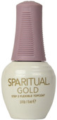 Spa Ritual Gold Gold Flexible Topcoat (0.5 fl. oz. / 15 mL)