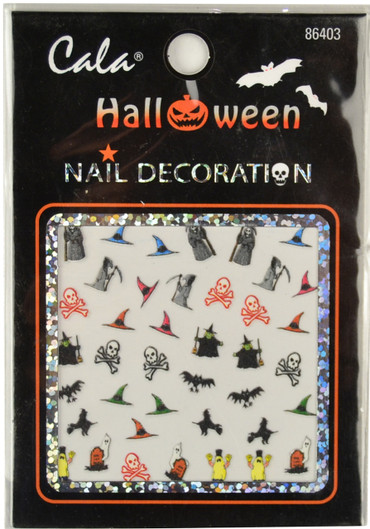 Cala Halloween #3 Nail Decal
