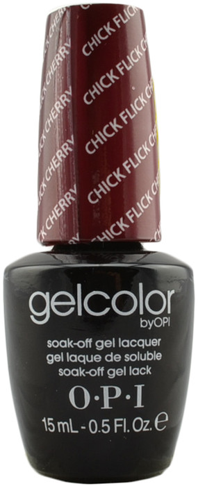 OPI GelColor Chick Flick Cherry (UV / LED Polish)