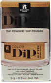 Red Carpet Manicure Dream Girl Gold Color Dip Powder