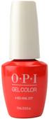 OPI GelColor A Red-Vival City (UV / LED Polish)