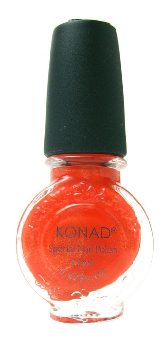 Orange Pearl (Special Polish) by Konad Nail Art