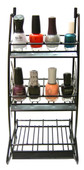 Metal Nail Polish Rack (Holds 36 Polishes)