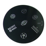 Image Plate #M52 (Sports, Words) by Konad Nail Art