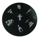 Image Plate #S3 (Religious) by Konad Nail Art