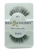 Red Cherry Lashes # 43 Red Cherry Lashes (Black)