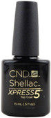 CND Shellac Nails Large UV Top Coat - Xpress 5 (0.5 fl. oz. / 15 mL), Free Shipping at Nail Polish Canada