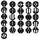Circle Monogram Letters