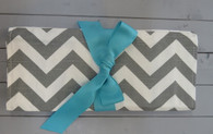 Grey Chevron Changing Pad