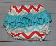 Multicolored Chevron Bloomer