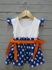 Blue and Orange Avery