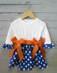 Blue and Orange Savannah