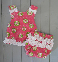 Pink and Green Maggie Sun Dress