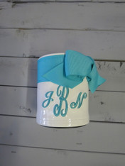 Tiffany Blue Ribbon Koozie