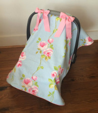Rose Car Seat Cover