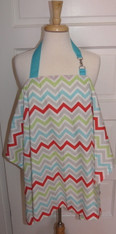 Multi Chevron Nursing Cover