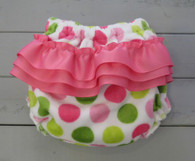 Pink and Green Dot Bloomers