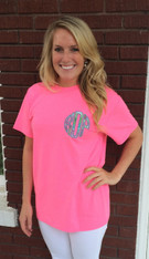 Applique Monogram Shirt