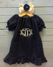 Navy Priscilla Dress