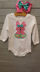 Easter Bunny and Egg Applique