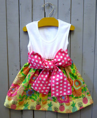 Flower Reese Dress