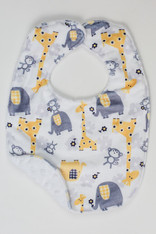 Yellow Zoo Bib
