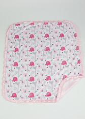 Pink Zoo Blanket