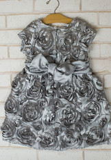 Grey Roses Virginia Party Dress