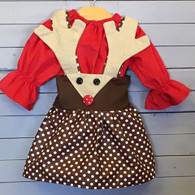 "Rudolph ""Charlotte"" Skirt and Top Set"
