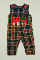 Tartan Plaid Train Jon Jon