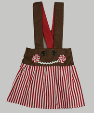 Charlotte Gingerbread Candy Stripe
