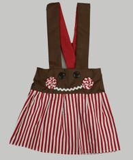 Charlotte Gingerbread Candy Stripe